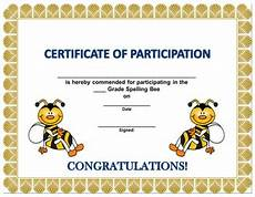 spelling bee certificates by littletootsies archive tpt