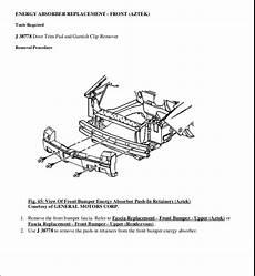 online auto repair manual 2005 pontiac aztek engine control 2001 pontiac aztek service repair manual