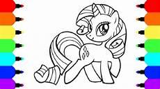 how to draw unicorn rarity from my pony friendship