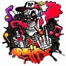Gambar Keren Grafiti Tengkorak
