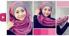 Cara Memakai Jilbab Segi Empat Modis Dan Simple Yuk