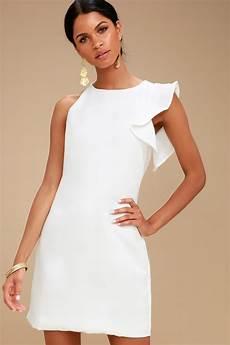 white dress one shoulder dress asymmetrical dress