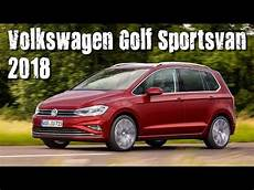 new 2018 volkswagen golf sportsvan review mk 7 5