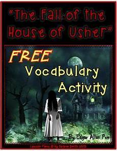 the fall of the house of usher lesson plans the fall of the house of usher vocabulary freebie
