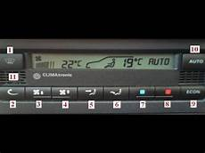 Vw Climatronic System How To Diagnose A Problem With