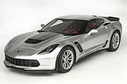 2015 Corvette C7 Z06 In Shark Silver Grey 118 Scale By