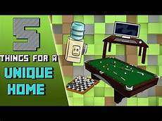 Coole Sachen Basteln - minecraft 5 cool things to make your home unique