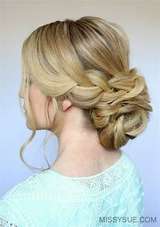 Pictures Of Low Bun Hairstyles