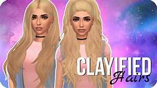 custom content hair sims 4 favorite clayified hairs sims 4 custom content showcase maxis match youtube