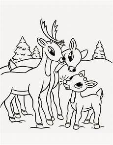 the site santa s reindeer coloring pages