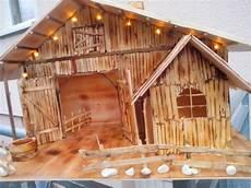 Weihnachts Krippe Komplette Bauabschnitte Bastelanleitung