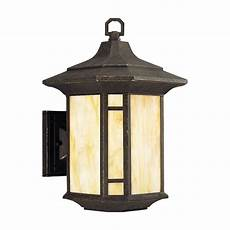 progress outdoor wall light with art glass in weathered bronze finish p5629 46 destination