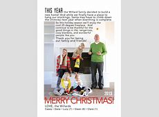 christmas card message for family