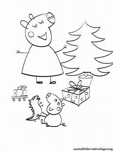 Peppa Wutz Ausmalbilder Weihnachten Ausmalbilder Peppa Wutz Kostenlos Zum Ausdrucken