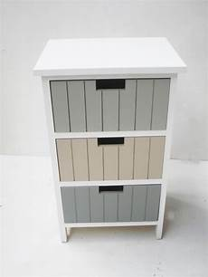 Bathroom Table Storage by 4 Or 3 Draw White Bathroom Bedroom Bedside Side Table