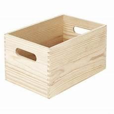 caisse en bois castorama caisse de rangement en pin vitoria taille 2 castorama