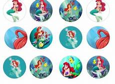 little mermaid edible cupcake toppers for sale in dalkey dublin from flour power