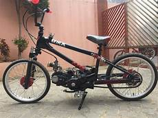 Modifikasi Motor Jadi Sepeda Bmx by Sepeda Motor Ala Bmx Bermesin Modifikasi Builder Azer
