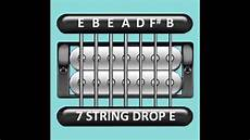 Guitar Tuner 7 String Drop E E B E A D F B