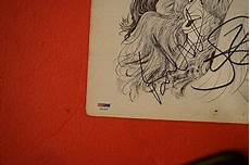 aerosmith complete band signed draw the line vinyl lp