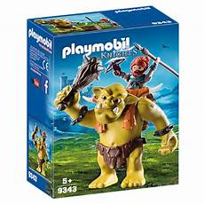 playmobil troll with fighter smart toys