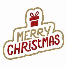 merry christmas lettering transparent png svg vector file