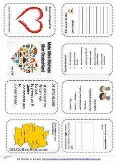 deutschland minibuch minib 252 cher geographie f 252 r kinder