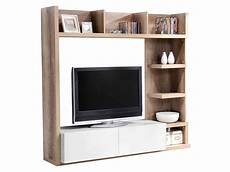 Meuble Etagere Tv Meuble Hifi Blanc Maisonjoffrois