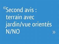 Second Avis Terrain Avec Jardin Vue Orient 233 S N No 34