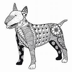 Malvorlage Hund Mandala Kostenloses Ausmalbild Hund Pitbull Die Gratis Mandala