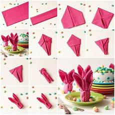 Wonderful Diy Bunny Napkins