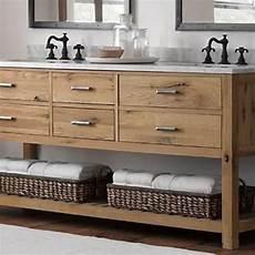 reclaimed wood bathroom vanity in 2019