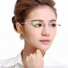 aliexpress com buy new fashion brand designer eyeglasses rimless glasses frame optical