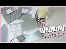 faire part mariage diy diy mes faire part de mariage pochette strass paillettes