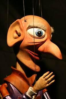 the puppet rumpelstiltskin detail of head a carved nine or ten string theatre