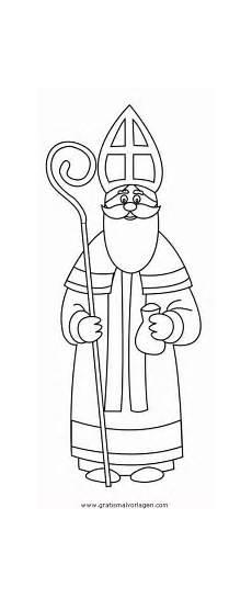 Malvorlagen Nikolaus Quest Nikolaus 1 Gratis Malvorlage In Weihnachten