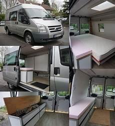 ford transit wohnmobil ausbau 50 diy cer