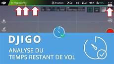 Djigo Temps De Vol Restant Informations Batterie