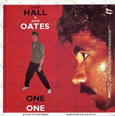 one by one oates one on one 7 inch vinyl records