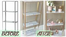 Bathroom Shelves Ikea Uk by Easy Diy Marble And Gold Shelf Ikea Hack