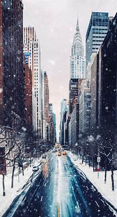 Winter Wallpaper New York