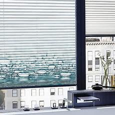 plissee mit motiv plissees individuell bedruckt riesige farb musterpaletten
