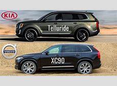 2020 Kia Telluride vs Volvo XC90   YouTube