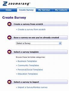 zoomerang survey software review survey software reviews