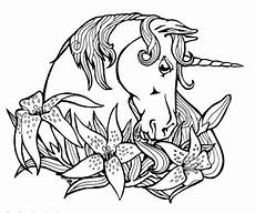 detailed unicorn coloring pages at getcolorings free
