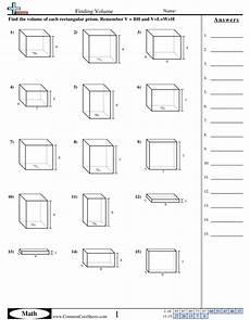 volume worksheets free commoncoresheets printables of worksheet find the volume geotwitter kids