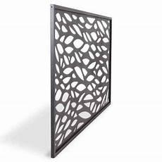 panneau decoratif aluminium panneau feuille aluminium neva anthracite castorama