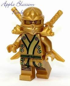 lego ninjago green gold minifig lloyd minifigure