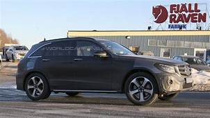 Mercedes Benz GLC Prototypes Spotted Thinly Camouflaged In