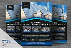 17 roofing flyer design templates free premium psd eps downloads